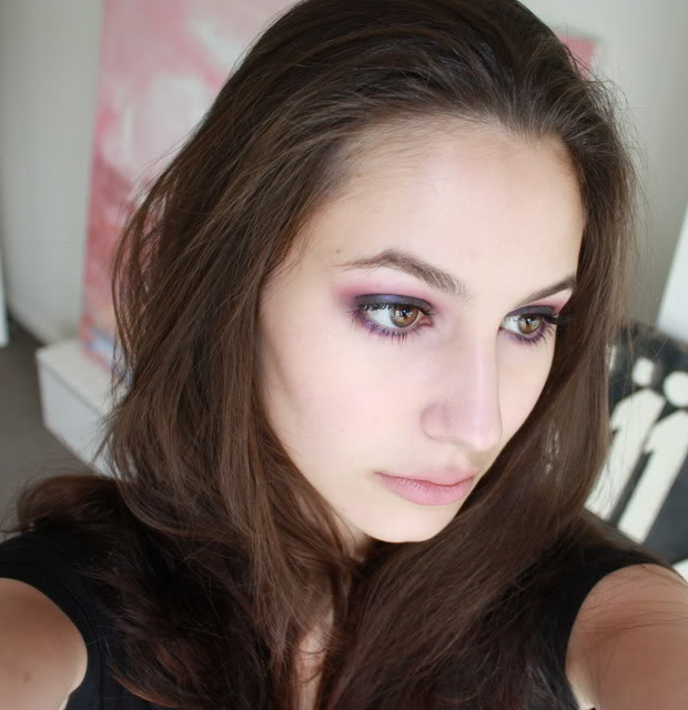 Purple Smokey Eyes