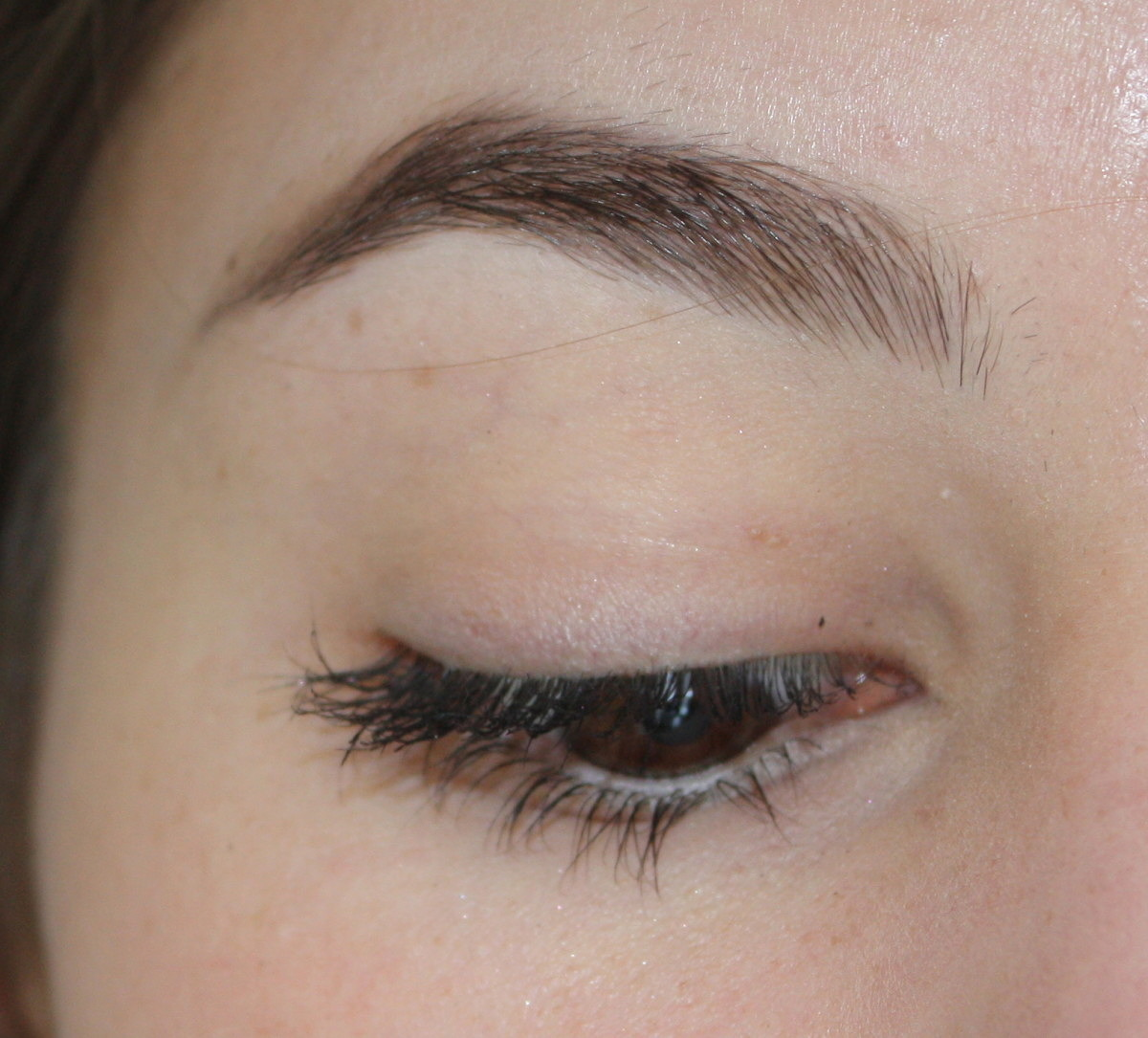SUQQU Eyebrow Pen before and afters