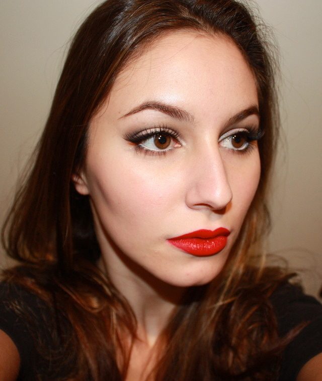 Red Lipstick Experiment