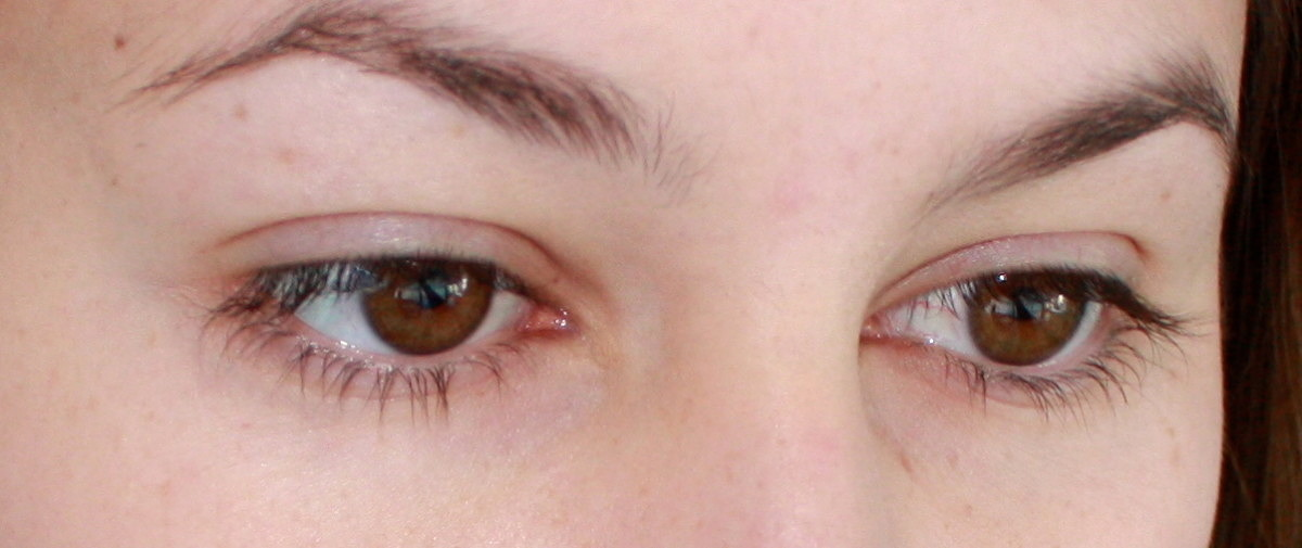 Before and After with Armani Precision Retouch Concealer