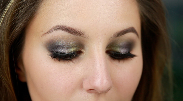 Youtube Makeup Tutorial! Metallic Smokey Eye