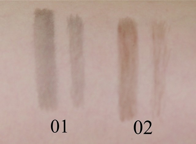 SUQQU Liquid Brow Pen – A review & shade comparison