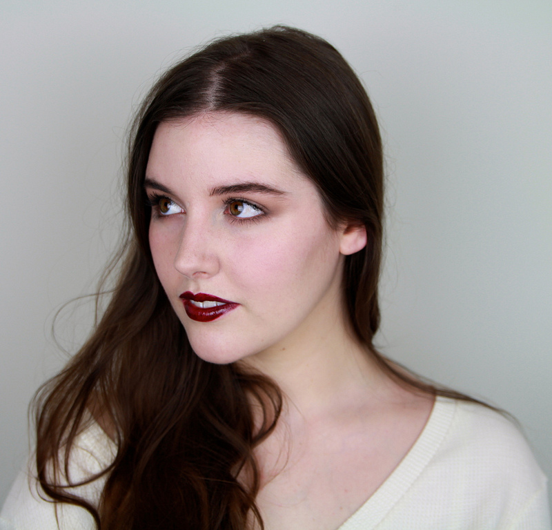 Vinyl Finish Vampy Lips Makeup Tutorial