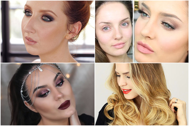 Roundup: Favourite Holiday Hair/Makeup Tutorials
