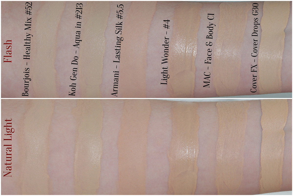 Lancome Foundation Color Match