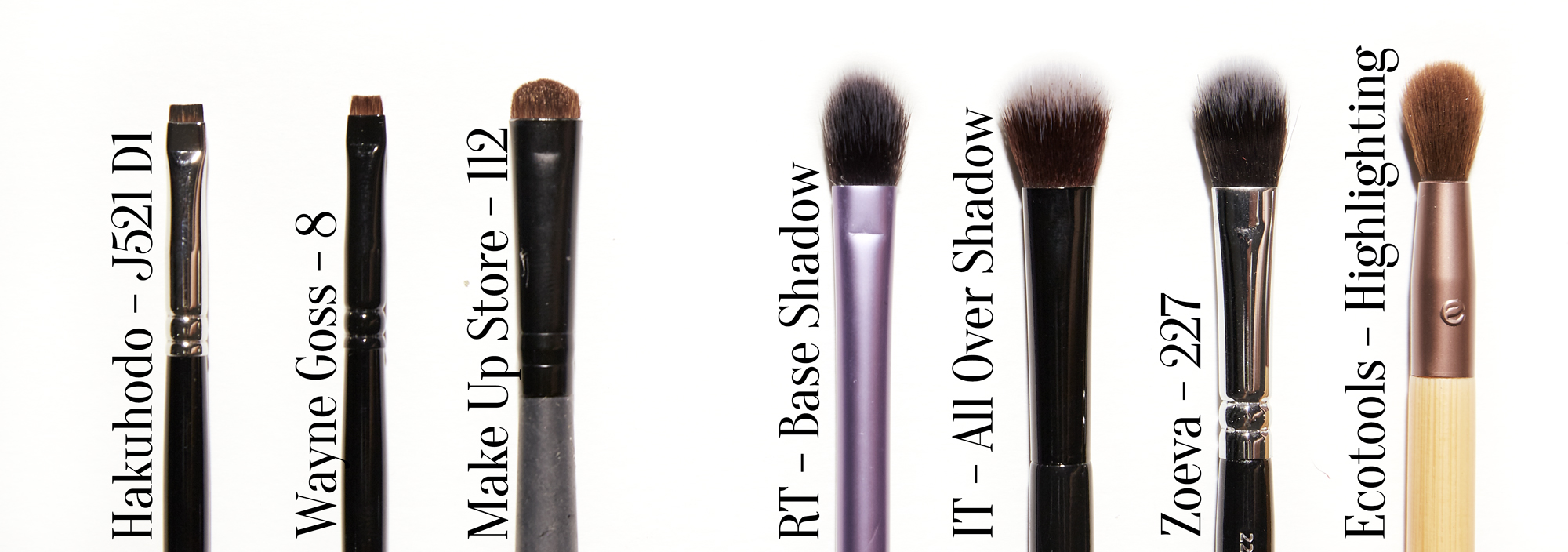 Japanese Brush Starter Kit – Eye Brushes