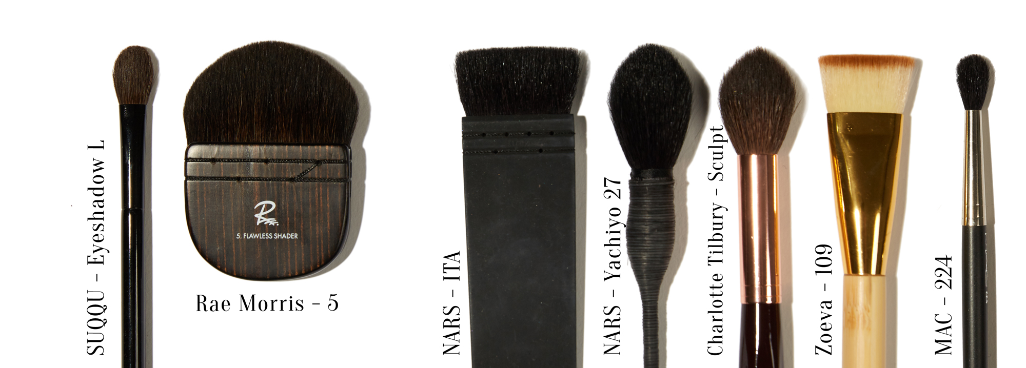 Japanese Brush Starter Kit – Face Brushes